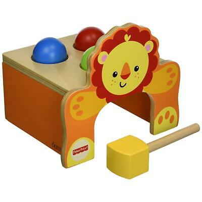 Happy People 41207 - Fisher Price Holzklopfbank 3 Bälle mit Hammer  aus Holz NEU
