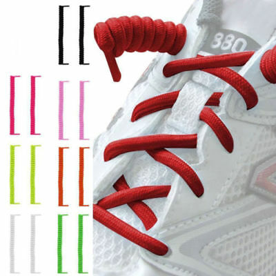 New Elastic No Tie Shoelaces Sports Trainer Athletic Sneakers Shoe Laces Unisex