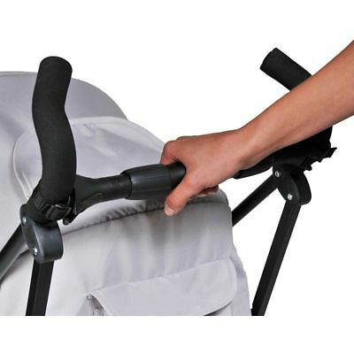 Dooky pushchair buggy univeral easy to fit bar makes it easier to push pushchair
