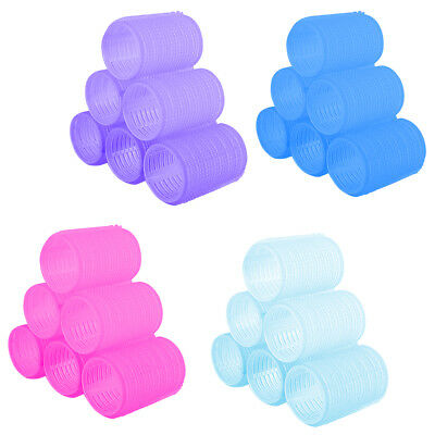 New 6pcs Large Hair Salon Rollers Curlers Tools Hairdressing tool Soft DIY