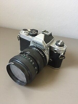 Nikon FM with Panagor Sky (IA) 52mm Lens