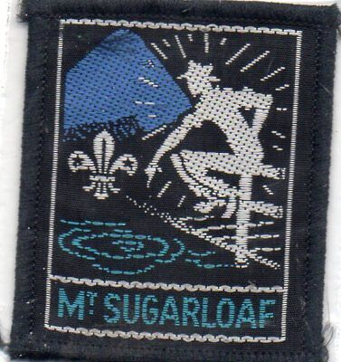Nsw  Scout Badge          Mt Sugaloaf