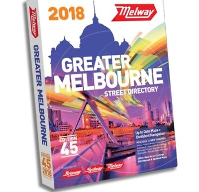 MELWAY 2018 Melbourne Street Directory