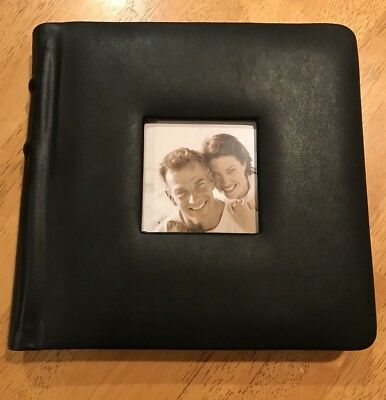 NEW Wedding/Family/Event 24 Professional Photo Album Black 8x8 adhesive pages