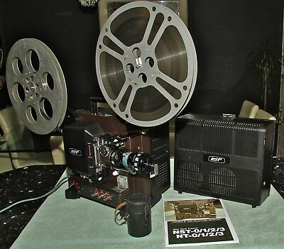 ELF NT1 16mm SOUND PROJECTOR with Anamorphic Lens