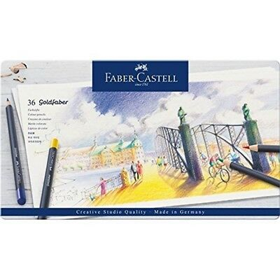 Goldfaber Colour Pencil In Metal Tin (pack Of 36) - 36 Pack Piece Set