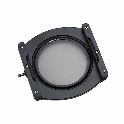 NiSi V5 PRO 100mm Aluminium Filter Holder with free lens cap and cleaning cloth.
