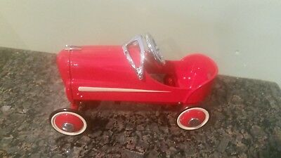 Hallmark 1940 Gendron Roadster Die Cast Peddle Car with box & card