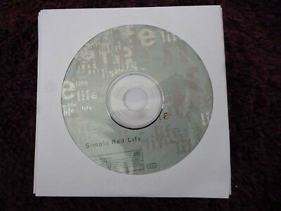 Simply Red - Life (CD) YOU MAKE ME BELIEVE*FAIRGROUND*SO BEAUTIFUL**DISC ONLY**