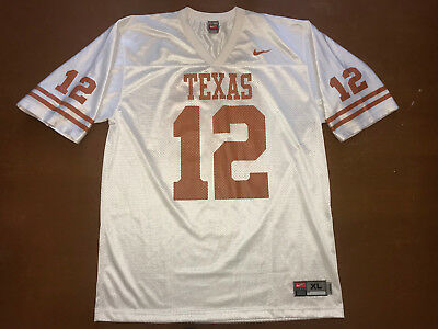 NFL American Football Trikot Shirt Jersey Nike TEXAS Longhorns Gr. XL #12