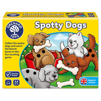 Orchard Toys Spotty Dogs a Fun Counting Game Ages 3 - 6 Years