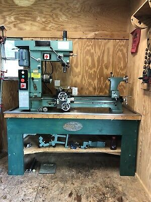 Grizzly G9729 Combination Metal Mill / Lathe