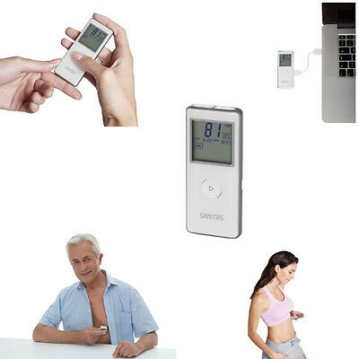 Mobiles EKG SME-85 SANITAS Gerät Herzrhythmus Smart ECG Manager Bluetooth WMV2