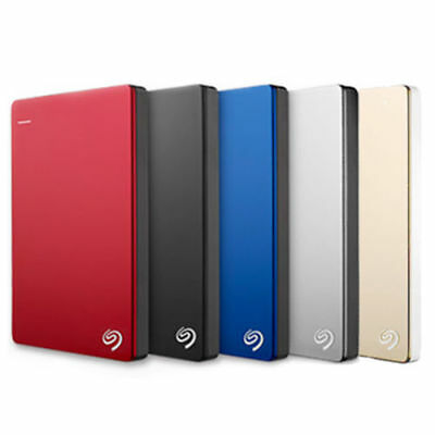 "SEAGATE Backup Plus SLIM 2.5"" 320GB 500GB 750G 1TB 1.5T 2TB  External Hard Drive"