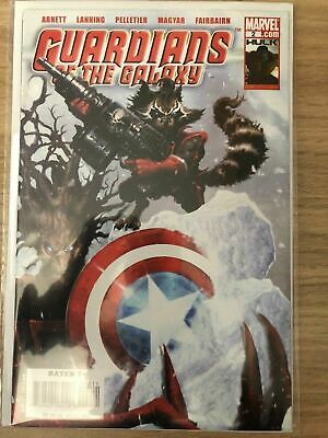 Guardians of the Galaxy #2 First Print Abnett & Lanning 2008