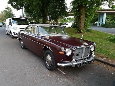 Rover P5 coupe , 3.0 Manual with private registration