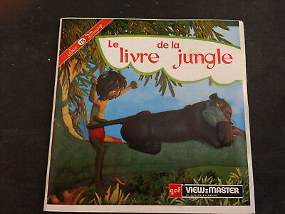 Viewmaster Disney Le Livre De La Jungle View Master 3 Disques
