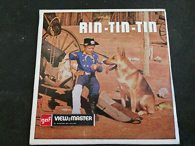 Viewmaster Rin Tin Tin View Master 3 Disques