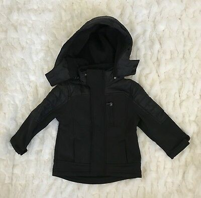 👶🏼 URBAN REPUBLIC Jacket Baby Boys 12 Month Black Coat