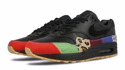 Nike Air Max 1 Master Black Trainers 910772 001: Amazon.co
