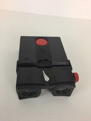 Stereo Realist Stereoscopic Viewer Black with Red Button Works Read Description
