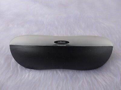 Used - Silhouette black plastic glasses / sunglasses case 2- proceeds to charity