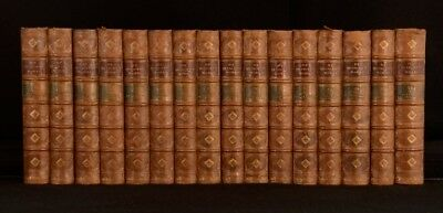 1862-74 16vols The Works of Thomas De Quincey Illustrated Essays Opium Eater