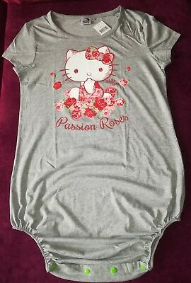 Adult Baby Body Spreizbody Pflegebody Windelbody SPREIZHOSE M Hello Kitty