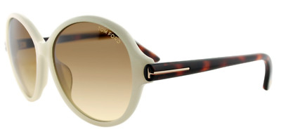980320b1be10 Authentic TOM FORD FT9343 - 20F Sunglasses Irridescent White   Havana  NEW   59mm