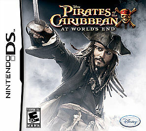 Pirates of the Caribbean: At World's End (Nintendo DS, 2007) CART ONLY