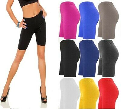 ✅🚴⭐ Ladies Cycling Shorts Dancing Womens Zumba Lycra Leggings Active Casual
