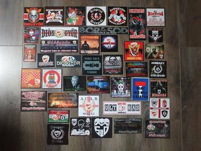 Lot de 41 stickers des Ultras / Hooligans du Diosgyori VTK (Hongria) Football