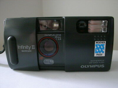 Olympus Infinity II Weatherproof 35mm Film Compact Camera