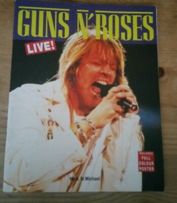 Guns And Roses   Live  Includes Colour Poster 1991
