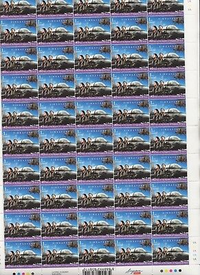 Singapore - 2008 - Air Force - 5 different sheets of 50 stamps - MNH