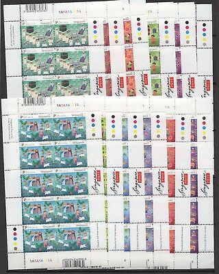Singapore - 2008 - Festivals - 12 different miniature sheets of 10 stamps MNH