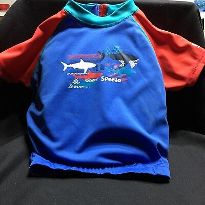 Speedo Childs Float Suit Top Age 2-4 Swimming Pool Safety Beach
