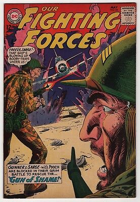 Our Fighting Forces #84 higher grade 1964 Gunner & Sarge DC war create-a-lot