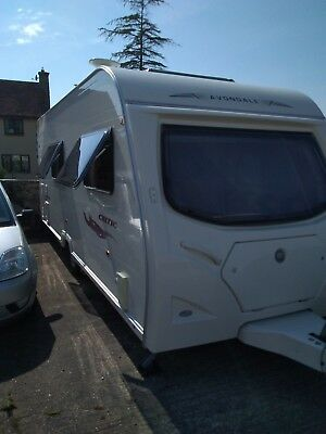 2008 Avondale Celtic 4 berth caravan a lovely starter van for a Family