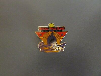 Collectible CROWN ROYAL NATIONAL FINALS RODEO Event Pin