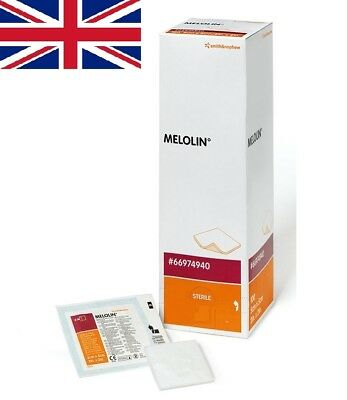 Melolin Sterile Wound Dressing Non-Adhesive First Aid | All Sizes | UK SELLER