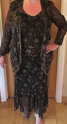 Ann Balon 3 piece outfit!Size M.Perfect for Mother of the Bride or Evening wear!