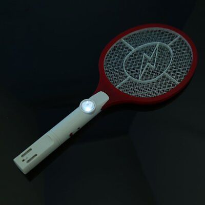 Cordless Rechargeable Bug Zapper Mosquito Insect Electric Fly Swatter Racket