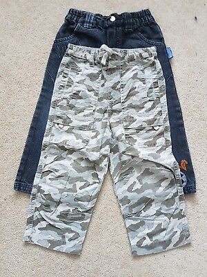 Two Pairs of Boys Trousers Age 2 years