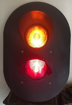 Safetran Systems Authentic Railroad Signal Light