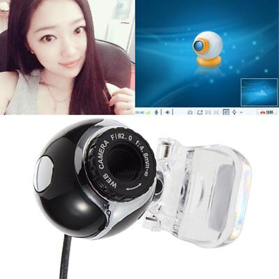 360 Degree HD 12 MP Auto USB 2.0 Webcam Camera with MIC for Skype PC Android TV