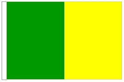 Ireland Kerry County Gaelic Games Colours Courtesy Flag for Boats 45cm x 30cm