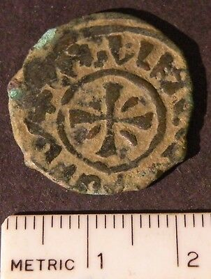 Crusader Cross Antique Coin1200's Europe Medieval Ancient Billon Templar Lot Ray