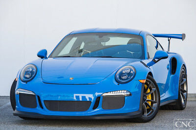 Porsche 911 GT3 RS 2016 Porsche 911 991 Coupe GT3 RS GT3RS GT3-RS Paint to Sample Blue 918 Miles
