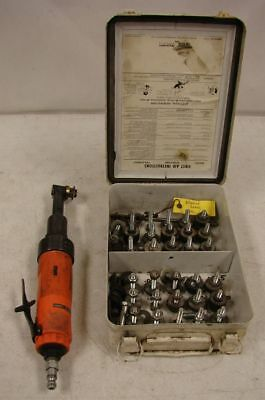 "Dotco 1/4"" Right Angle Air Drill 15LN250-62, 20,000 RPM Made in USA"